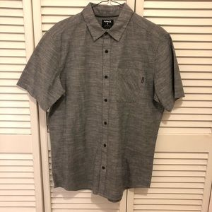 Hurley button up casual shirt